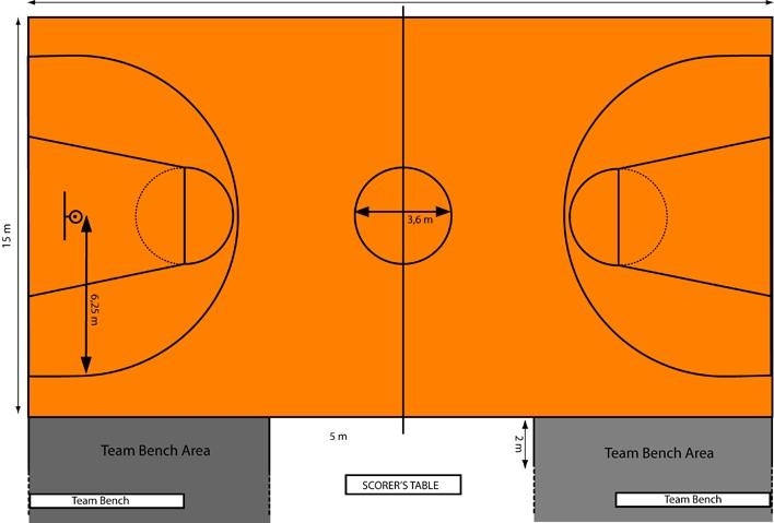 Покрытие площадки для баскетбола ecoprom.biz
