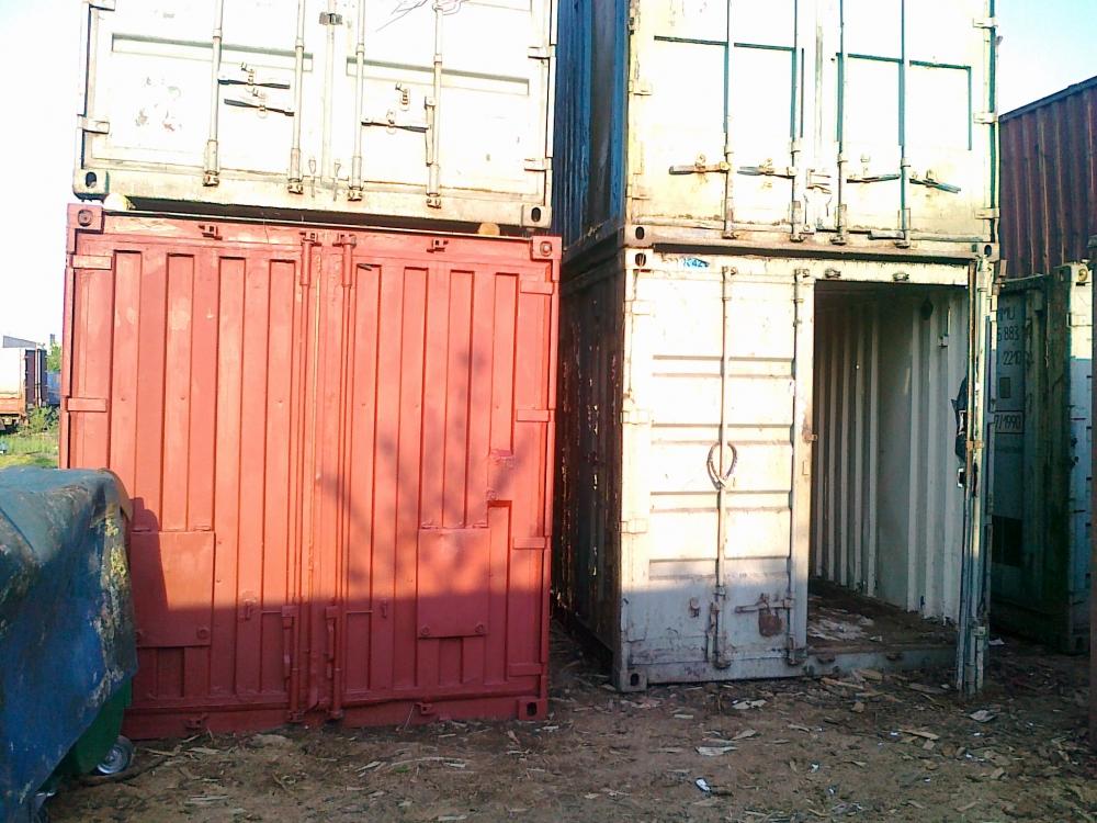 Купить контейнер 20 футов в Киеве